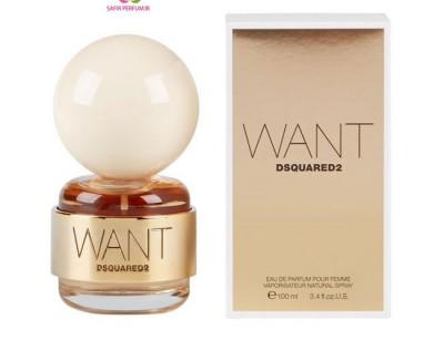 عطر زنانه وانت برند دیسکوارد  ( DSQUARED -  WANT )