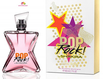 عطر زنانه پاپ راک برند شکیرا  (  SHAKIRA -  POP ROCK )