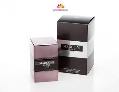 عطر مردانه مارکنی بلک برند ( OTHER -  MARCONI BLACK  )