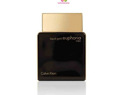 عطر مردانه لیکویید گلد ایفوریا  برند کالوین کلین  (  CALVIN KLEIN -  LIQUID GOLD EUPHORIA MEN  )