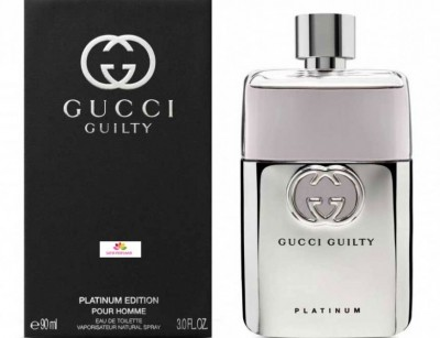 عطر مردانه گوچی گیلتی پلاتینیوم برند گوچی   (  GUCCI   -  GUCCI GUILTY POUR HOMME PLATINUM    )