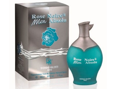 عطر مردانه رز نویر ابسولوت برند جورجیو والنتی  ( GIORGIO VALENTI  -  ROSE NOIRE MEN ABSOLUTE     )