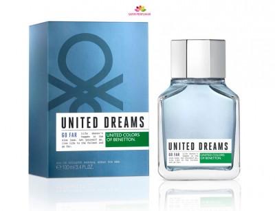 عطر مردانه  یونایتد دریمز گو فار  برند بنتون  ( BENETTON -  UNITED DREAMS MEN GO FAR  )