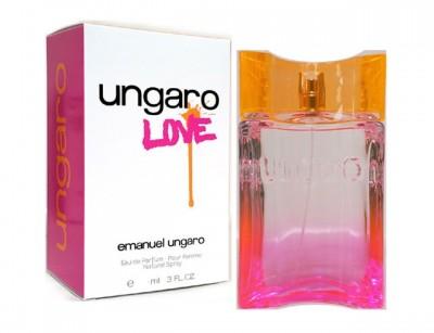 عطر زنانه  اونگارو لاو  برند امانوئل اونگارو   (    EMANUEL UNGARO  -  UNGARO LOVE )