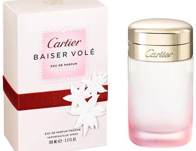 عطر زنانه  بیسر ول فرش  برند کارتیر  (  CARTIER  -  BAISER VOLE EAU DE PARFUM FRAICHE    )