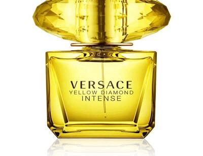 عطر زنانه یلو دایموند اینتنس  برند ورساچه  (  VERSACE   -  YELLOW DIAMOND INTENSE    )