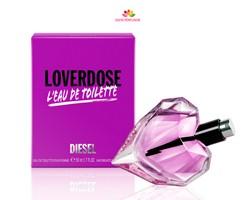 عطر زنانه لاوردوز لئو تویلت  برند دیزل  (  DIESEL  -  LOVERDOSE LEAU DE TOILETTE  )