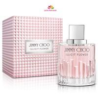 عطر زنانه ایلیسیت فلاور برند جیمی چو  (  JIMMY CHOO  -  ILLICIT FLOWER     )
