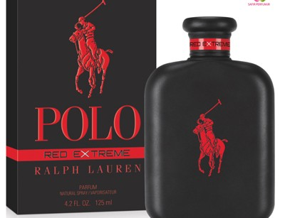 عطر مردانه پولو رد اکستریم برند رالف لاورن  ( RALPH LAUREN -  POLO RED EXTREME    )