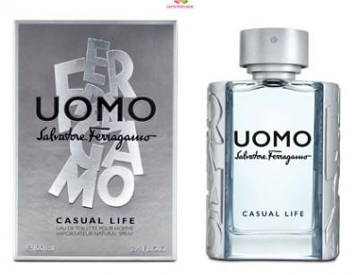 عطر مردانه اومو سالواتوره فراگامو کژوآل لایف برند سالواتوره  فراگامو  (  SALVATORE  FERRAGAMO  -    UOMO SALVATORE FERRAGAMO CASUAL LIFE    )