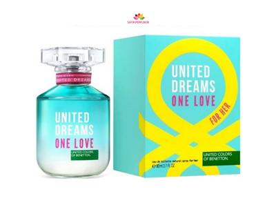عطر زنانه یونایتد دریمز وان لاو برند بنتون  ( BENETTON -  UNITED DREAMS ONE LOVE  )