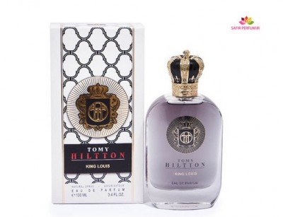 عطر مردانه کینگ لوییس برند تامی هیلتون  (  TOMY HILTTON  -  KING LOUIS    )