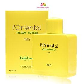 عطر و ادکلن مردانه اورینتال یلو ادیشن برند جی پارلیس  (  GEPARLYS -  L ORIENTAL YELLOW EDITION     )