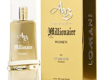 عطر و ادکلن زنانه اسپریت میلیونر برند لومانی  ( LOMANI  -  AB SPIRIT MILLIONAIRE WOMEN     )