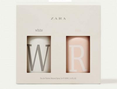 ست زنانه وایت رز  برند زارا  (   ZARA   -  WHITE   ROSE SET   )
