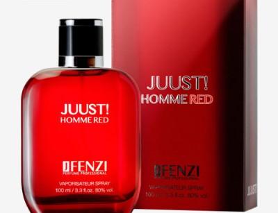 عطر و ادکلن مردانه جاست هوم رد برند جی فنزی  (   JFENZI   -  JUUST HOMME RED   )