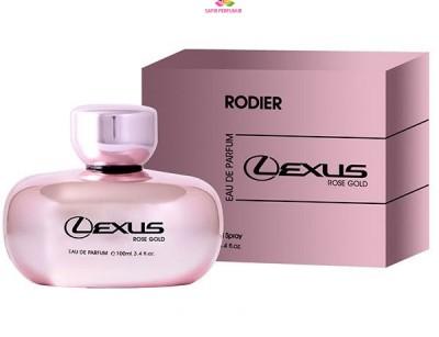 عطر و ادکلن زنانه لکسوس رز گلد برند ردییر  (  RODIER  -  LEXUS ROSE GOLD     )