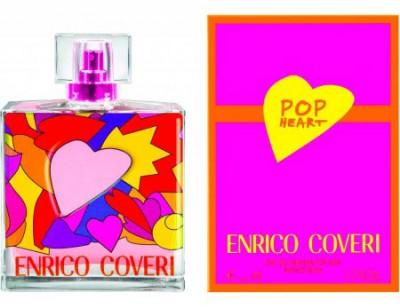 عطر و ادکلن زنانه پاپ هارت برند انریکو کاوری  (  ENRICO COVERI  -  POP HEART FOR HER  )