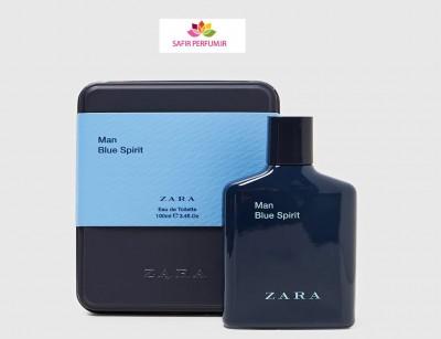 عطر و ادکلن مردانه بلو اسپیریت نسخه ویژه برند زارا  (  ZARA   -  MAN BLUE SPIRIT SPECIAL EDITION    )