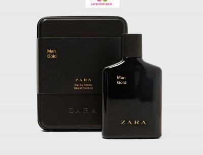 عطر و ادکلن مردانه گلد نسخه ویژه برند زارا  (  ZARA   -  MAN GOLD SPECIAL EDITION    )