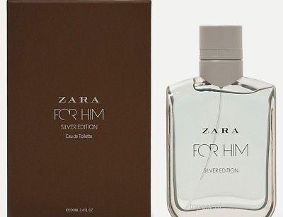 عطر و ادکلن مردانه فور هیم سیلور برند زارا  (  ZARA   -  FOR HIM SILVER    )
