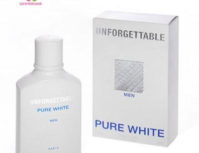 عطر و ادکلن مردانه آنفورگتیبل پیور وایت برند جی پارلیس  (  GEPARLYS -  UNFORGETTABLE PURE WHITE    )