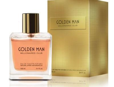 عطر و ادکلن مردانه گلدن برند ویتوریو بلوچی  (  VITTORIO BELLUCCI   -  GOLDEN MAN      )
