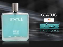 عطر و ادکلن مردانه استتوس برند سریس   ( SERIS  -  STATUS  )