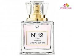 عطر و ادکلن زنانه شماره 12 کریستال ادیشن برند جکز باتینی  (  JACQUES BATTINI  -  CRYSTAL EDITION N12   )