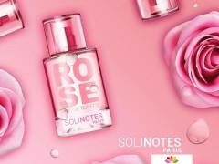 عطر و ادکلن زنانه و مردانه رز برند سولی نوتز  (  SOLINOTES  -  ROSE   )