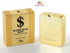 عطر و ادکلن مردانه سوپر ریچ من برند استایل پارفوم   (  STYLE PARFUM   -  SUPER RICH MAN    )