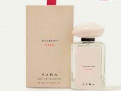 عطر و ادکلن زنانه آکورد شماره 1 فلورال برند زارا  (  ZARA   -  ACCORD NO 1 FLORAL   )
