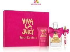 ست عطر و ادکلن زنانه ویوا لا جوسی برند جوسی کوتور (   JUICY COUTURE  - VIVA LA JUICY SET )