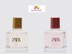 ست زنانه عطر و ادکلن گلد – رز گلد برند زارا  (   ZARA   -  WOMAN GOLD  - WOMAN ROSE GOLD     )