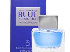 عطر مردانه  بلو کول سداکشن  برند آنتونیو باندراس  ( Antonio Banderas   - Blue Cool Seduction for men  )