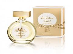 عطر زنانه  هر گلدن سیکرت  برند آنتونیو باندراس  ( Antonio Banderas   - Her Golden Secret  )