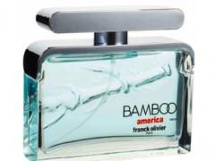 عطر مردانه بامبو امریکا  برند فرانک اولیویر  ( Franck Olivier   -  Bamboo America  for men  )