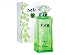 عطر زنانه  کرلف سبز  برند کرلف  ( KORLOFF -  Korloff  Green  )