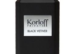 عطر مردانه  پرایویت بلک وتیور  برند کرلف  ( KORLOFF -  Private Black Vetiver  )