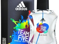 عطر مردانه تیم فایو  برند آدیداس  ( ADIDAS -  Team Five  )