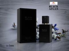 عطر و ادکلن زنانه و مردانه بلک افگان برند لا استی  ( LA STEE  -  BLACK AFGAN     )
