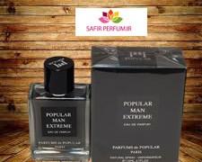 عطر و ادکلن مردانه پاپیولار من اکستریم  برند پارفومز د پاپیولار  ( PARFUMS DE POPULAR  -  POPULAR MAN EXTREME      )