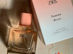 عطر و ادکلن زنانه فم وینتر برند زارا   (  ZARA  -  FEMME WINTER    )