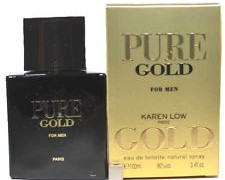 عطر مردانه پیور گلد برند جی پارلیس  ( Geparlys  -    pure gold  )