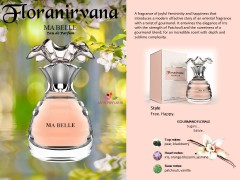 عطر و ادکلن زنانه ما بل برند فلورانیروانا   (  FLORANIRVANA  -  MA BELLE    )