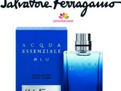 عطر مردانه آکوا اسنشیال بلو ( آبی )  برند سالواتوره  فراگامو  (  Salvatore Ferragamo - Acqua Essenziale Blu )