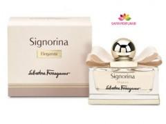 عطر زنانه سیگنورینا الگانزا  برند سالواتوره  فراگامو  ( Salvatore Ferragamo -   Signorina Eleganza   )