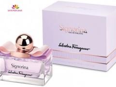 عطر زنانه سیگنورینا تویلت برند سالواتوره  فراگامو  ( Salvatore Ferragamo -    Signorina Eau de Toilette  )