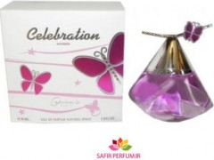 عطر زنانه سلبریشن  برند جی پارلیس  ( GEPARLYS  -   celebration  )