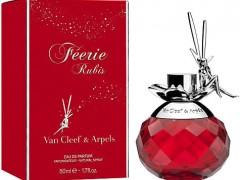 عطر زنانه فری روبیس برند ون کلیف اند آرپلز ( VAN CLEEF AND ARPELS -  FEERIE RUBIS )